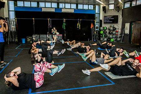 סוגי אימונים במועדון FTR